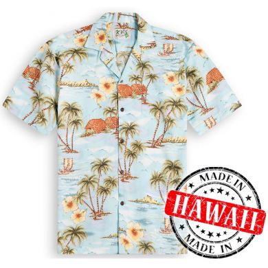 "Hawaii Shirt ""Leven op Hawaii"""