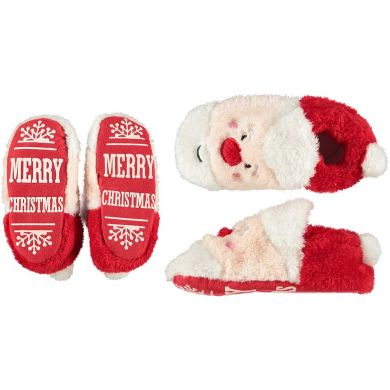 "Kinder booties ""Santa Claus"""